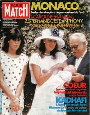 paris match n°1842 caroline stephanie rainier  kadhafi