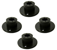 4 pack CARAVAN UNIVERSAL BIG FOOT JACK PADS fits table and chair round legs