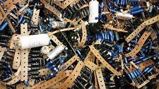 Stock Lotto Kit Affare 0,5 Kg condensatori elettrolitici assortiti varie misure