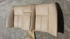 BMW E39 97-03 525i 528i 530i 540i Beige Tan rear seat back OEM leather