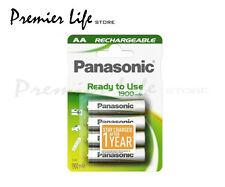Panasonic HHR-3MVE/4BC Ready to Use AA 1900mAh  Rechargeable- Pack of 4