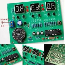DIY Kit Module 9V-12V AT89C2051 6 Digital LED Electronic Clock Parts