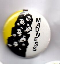 MADNESS  - BUTTON BADGE - UK SKA BAND - SUGGS - OUR HOUSE - ONE STEP BEYOND 25mm