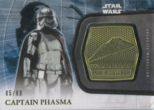 Star Wars the Force Awakens Series 2 Gold Medallion 3 Phasma Chase Card #5/60