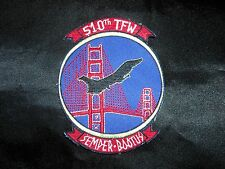 USAF AIR FORCE 510TH TACTICAL FIGHTER WING F-16 FALCON 3.0 SEMPER BOOTUS PATCH