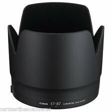 Genuine Canon ET 87 Lens Hood for EF 70-200mm f2.8 L IS II USM. Prevents Flaring