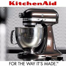 KitchenAid New Artisan Series 5-Qt Stand Mixer KSM150PSES with Pouring Shield