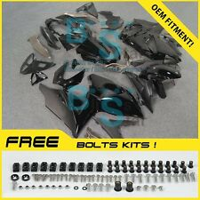 black GSXR1000 Fairing Fit Suzuki GSX-R1000 2010 2011 12 13 2009-2016 016 A4