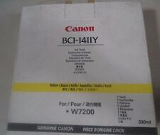 BCI-1411Y Yellow Ink Tank, Canon W7200 NEW