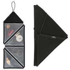2 Umbra Tangram Folding Hanging Travel Accessory Organizers For Jewelry Makeup