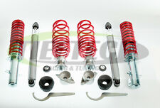 COILOVER VW BORA ADJUSTABLE SUSPENSION KIT + TOP MOUNTS FRONT AND REAR