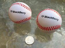 PLAY BALL!! BlackBerry (RIM) Logo Baseball Stress Ball Combo (2 PACK) Promo SWAG