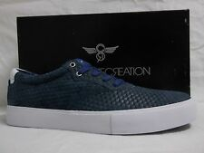 Creative Recreation Size 12 M Prio Blue Leather Low Sneakers New Mens Shoes
