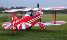 1/3 Scale Pitts S-1 69 inch Wing Span  Giant Scale RC AIrplane Printed Plans