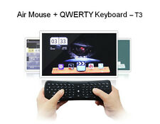 T3 2.4G Wireless Fly Air Mouse Telecomando Touch Tastiera Per Mini-PC