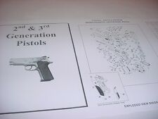 Smith & Wesson Model 1086 10mm Pistol Parts Diagram w/ Part Numbers & Price List