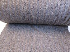 1 Metre x 75cm W  Length of Genuine Brown Vintage Harris Tweed Wool Material