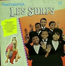 LES SURFS-INOLVIDABLES LP VINILO 1991 SPAIN EXCELLENT COVER-GOOD VINYL