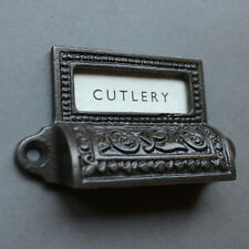APOTHECARY VINTAGE STYLE VICTORIAN CUP PULL HANDLE DRAWER PULL FURNITURE ~ DP05