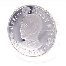 Silver Commemorative Coin Collectible Eagle Adler Hitler Das Dritte Reich Führer