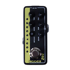 Mooer Micro Preamp 002 UK Gold Guitar Effects Pedal Footswitch Stompbox