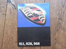 Original Prospekt Porsche 1993 + 911 964 Turbo Speedster 993 928 GTS 968 CS