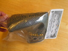 Scotty Cameron 2014 Select Black Milled GoLo MID-MALLET  Putter Head Cover NIB