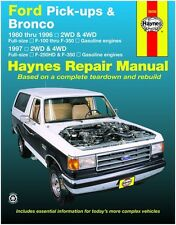 Haynes Repair Manual 36058 Ford Pick-Up & Bronco 1980 - 1996