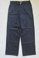 New with Tags Boy's Cherokee Ultimate Khaki Black Uniform Pants Size 14