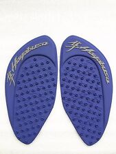3d rubber Tank Traction Pad Side Gas Grip Protector For Hayabusa GSXR 1300 Blue