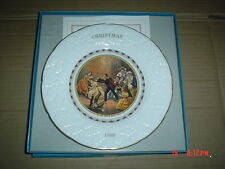 Coalport Collectors Plate CHRISTMAS 1980 - BLIND MAN'S BUFF Boxed