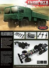 RC4WD Beast II 6x6 Truck Kit RC4Z-K0052