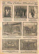 Poilus Soldats Blessés Hôpital Saint-Maur et La Varenne-Saint-Hilaire WWI 1915