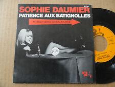 """DISQUE 45T DE  SOPHIE DAUMIER & GUY BEDOS  """" PATIENCE AUX BATIGNOLLES """""""