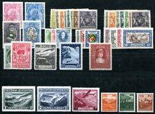 LIECHTENSTEIN 1912-1934 ungebrauchte Marken und SÄTZE(S7725