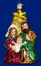 """""""Holy Family"""" (10132) Old World Christmas Glass Ornament"""