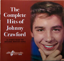 New Sealed CD Complete Hits Of Johnny Crawford 26 Trcks Many Rare 18 Stereo 2013