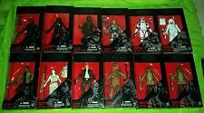 Star wars black series 6 inch lot rey bb-8 jango fett Chewbacca han solo plus