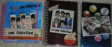 1D ONE DIRECTION LOT 3 COMPOSITION  AGENDA BOOKS HARRY LOUIS ZAYN LIAM