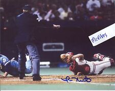 Tom Nieto 1985 St Louis Cardinals Autographed Signed 8x10 Photo COA #3