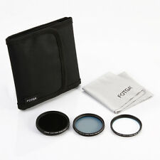 5-IN-1 FOTGA 49mm MC-CPL MC-UV Variable ND Filter Kit+Filter Case+Cleaning Cloth