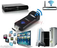 Antenna Wireless 300mbps Decoder SKY Smart TV Xbox Console WIFI chiave SpedTRACC