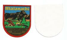 Hlalanathi Drakensberg Resort Soth Africa badge patch two identical items
