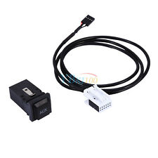 AUX In Audio In Socket Switch Plug Cable For VW GOLF MK6 JETTA MK5 Sagitar