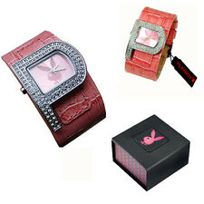 PlayBoy Genuino Reloj de Damas Niñas esposa Regalo Ideal Con Caja De Regalo PB0189PK
