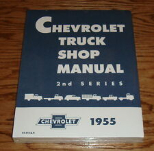 1955 Chevrolet Truck Shop Service Manual 2nd Series 55 Chevy