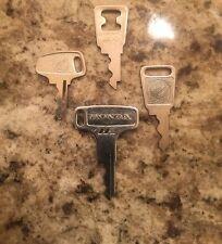 Vintage Honda OEM Factory Pre Cut Motorcycle Key # H6306