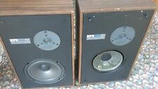 Pair Vintage Speakers EPI T/E 100 Series  One Woofer needs Re-foam