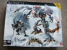 Lego Bionicle Set 10204 Kardas Dragon & Vezon Complete + Box +instructions