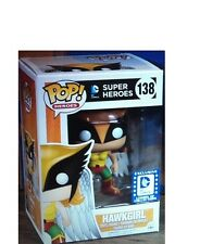 FUNKO POP HAWKGIRL LEGION OF COLLECTORS EXCLUSIVE DC COMICS #138 IN STOCK